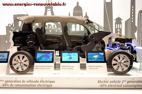 les vehicules lectriques du salon de l 39 automobile energie renouvelable. Black Bedroom Furniture Sets. Home Design Ideas